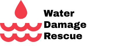 water damage rescue logo